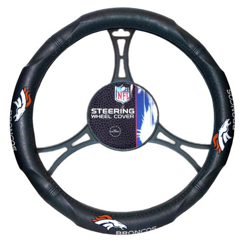 The Northwest Company Denver Broncos Steering Wheel Cover