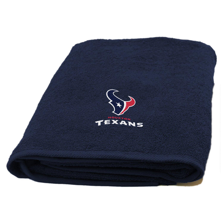 The Northwest Company Houston Texans Appliqué Bath Towel