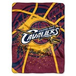 The Northwest Company Cleveland Cavaliers Shadow Play Super Plush Throw