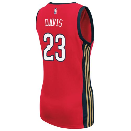 adidas Women's New Orleans Pelicans Anthony Davis No. 23 Replica Jersey