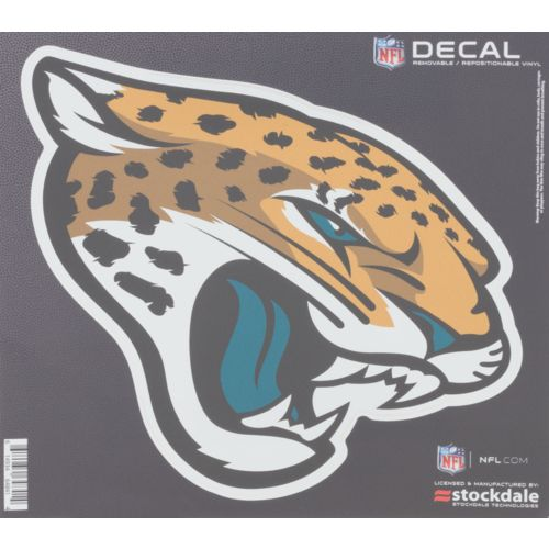 "Stockdale Jacksonville Jaguars 6"" x 6"" Decal"