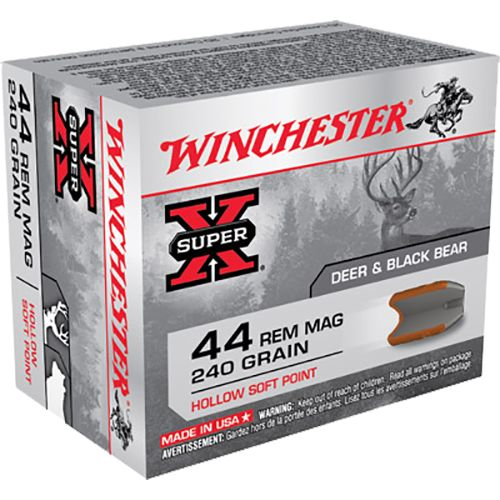 Display product reviews for Winchester Super-X .44 Remington Magnum 240-Grain Hollow Soft Point Centerfire Handgun Ammunition