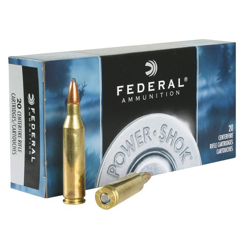 Federal Premium® Power-Shok Soft-Point .243 Win. 80-Grain Centerfire Rifle Ammunition