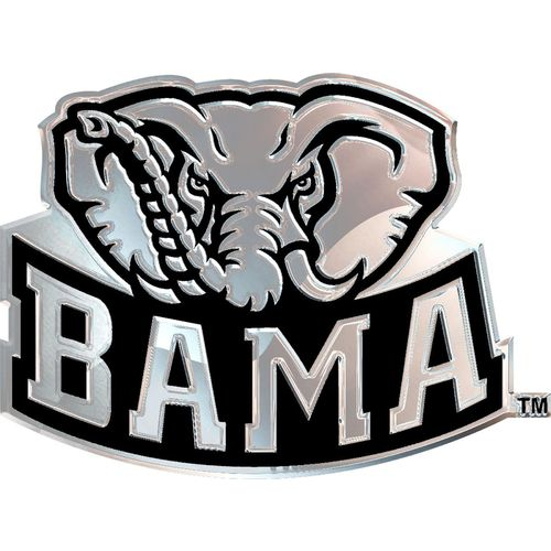 Stockdale University of Alabama Chrome Freeform Auto Emblem