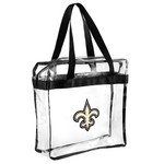 Team Beans New Orleans Saints Clear Messenger Bag - view number 1