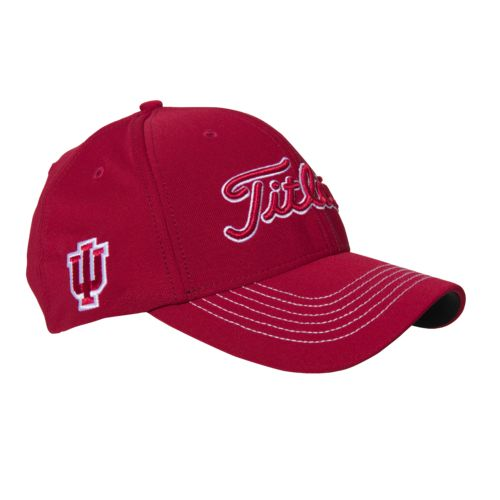 Titleist Adults' Indiana University Collegiate Fitted Cap