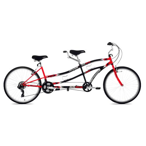 "KENT Adults' Dual Drive 26"" 21-Speed Tandem Bicycle"