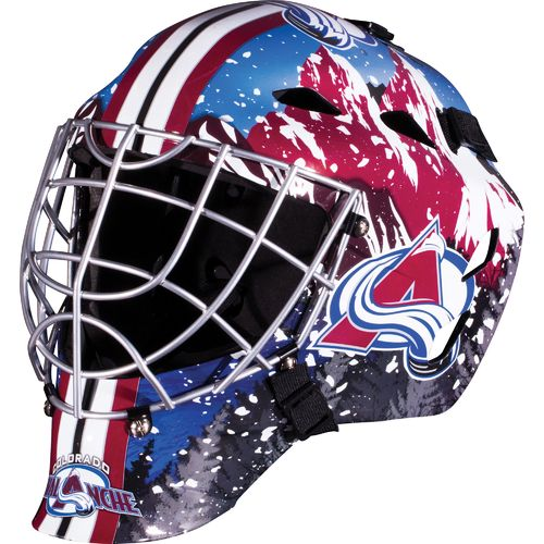 Franklin Boys' Colorado Avalanche GFM 1500 Goalie Face Mask