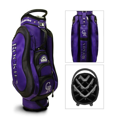 Team Golf Colorado Rockies Medalist 14-Way Cart Golf Bag