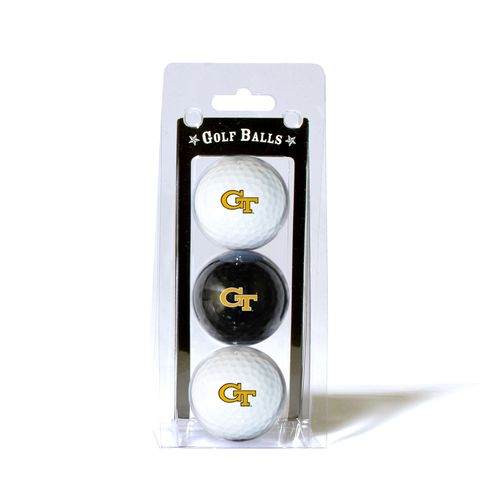 Team Golf Georgia Tech Golf Balls 3-Pack