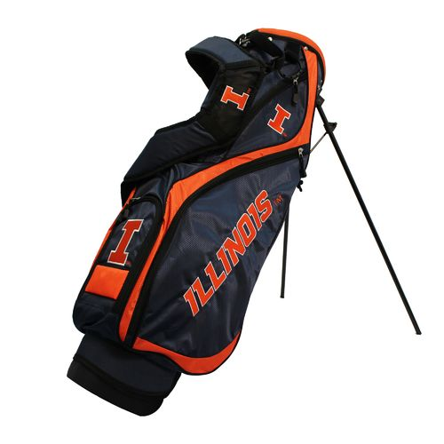 Team Golf University of Illinois Nassau Stand Golf Bag