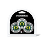 Team Golf University of Oregon Poker Chip and Golf Ball Marker Set - view number 1