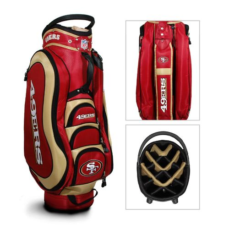 Team Golf San Francisco 49ers Medalist Golf Cart