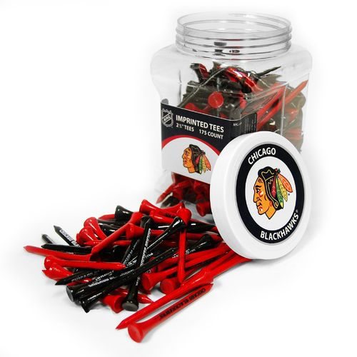 Team Golf Chicago Blackhawks Tees 175-Pack