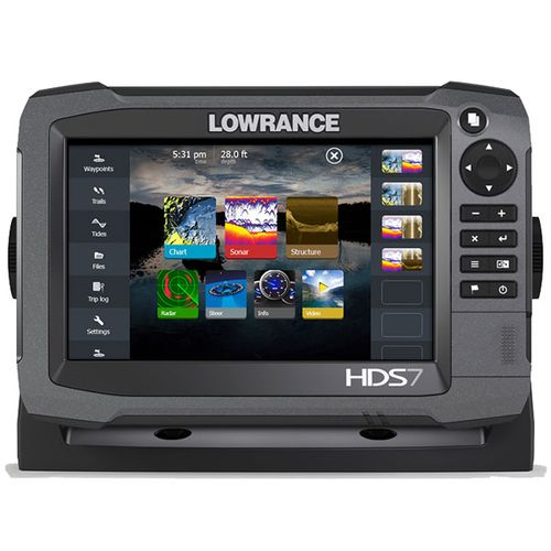 Lowrance HDS-7 Gen3 Touch Screen Sonar/GPS Fishfinder
