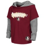 Colosseum Athletics Toddler Boys' Florida State University Splattered Hooded T-shirt