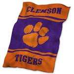 Logo Clemson University Ultrasoft Blanket