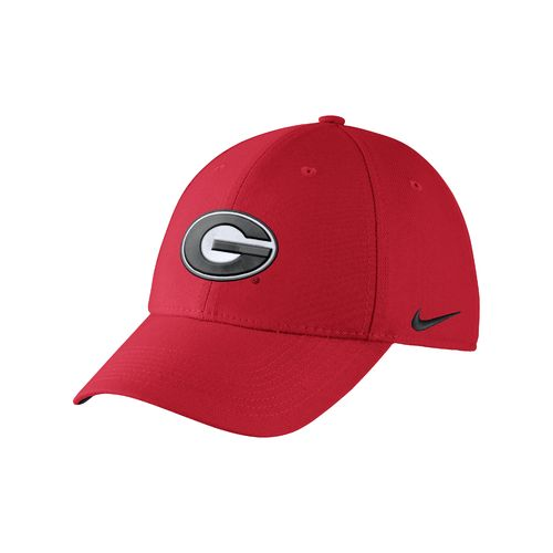 Nike™ Adults' University of Georgia Swoosh Flex Cap