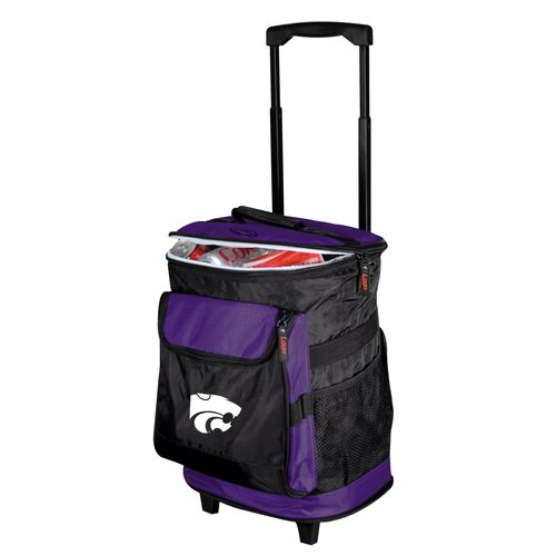 Logo Kansas State University 48-Can Rolling Cooler
