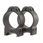 Warne Maxima/Magnum Permanent 1 in Medium Fixed Scope Mount Rings - view number 1