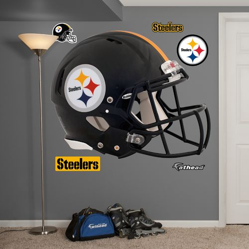 Fathead Pittsburgh Steelers Real Big Helmet Decal