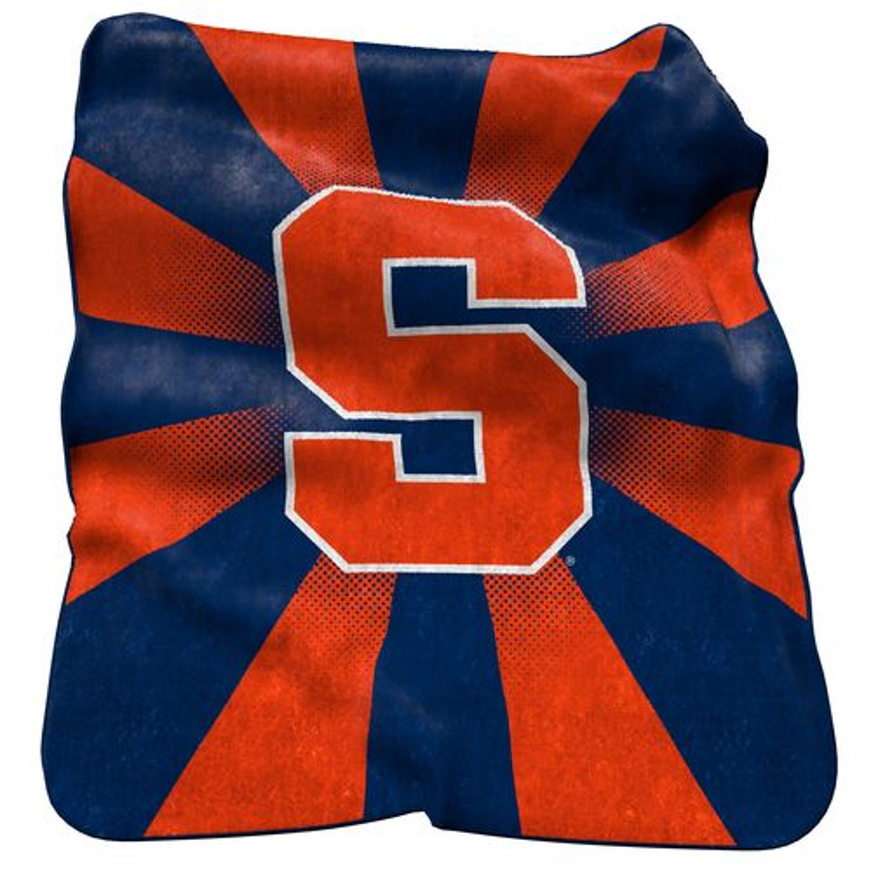 Logo™ Syracuse University Raschel Throw