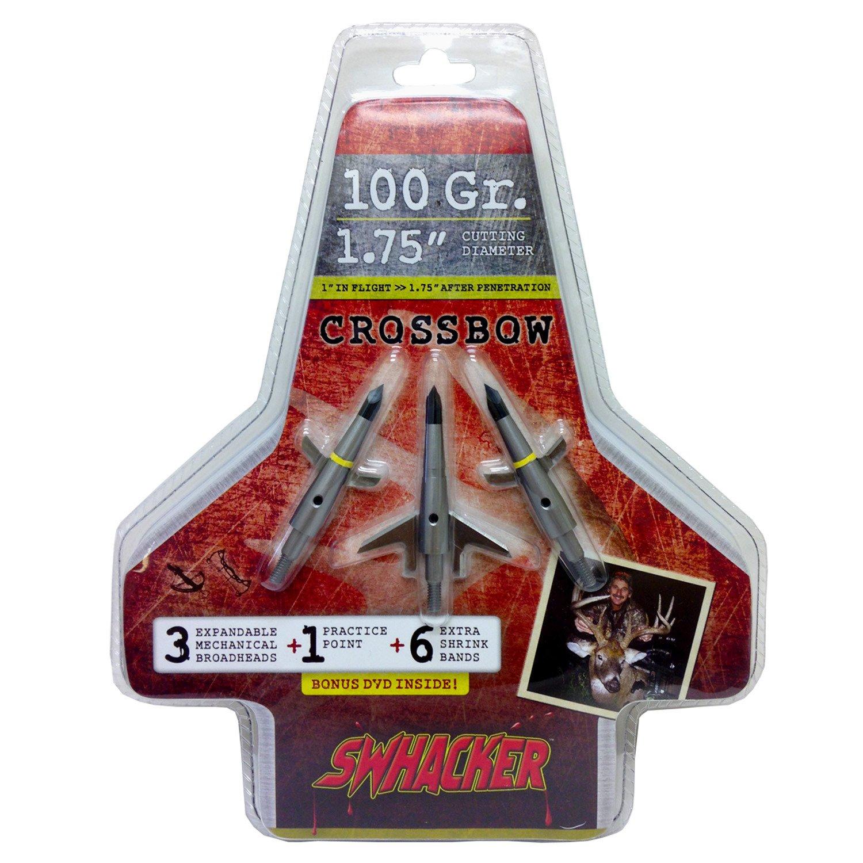 C'Mere Deer® Swhacker Crossbow Broadheads 3-Pack