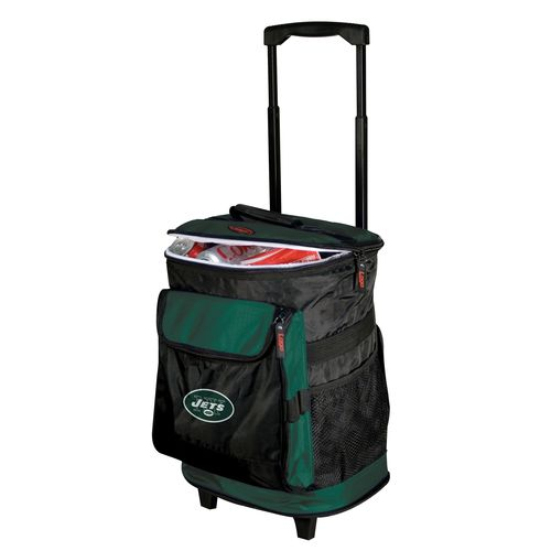 Logo™ New York Jets Rolling Cooler - view number 1