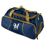 Logo™ Milwaukee Brewers Athletic Duffel Bag