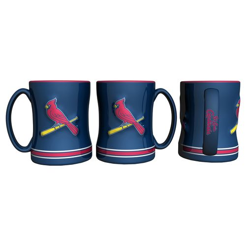 Boelter Brands St. Louis Cardinals 14 oz. Relief Coffee Mugs 2-Pack