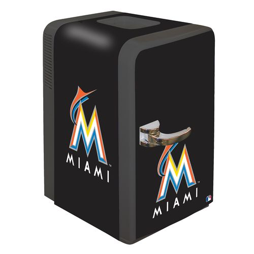 Boelter Brands Miami Marlins 15.8 qt. Portable Party Refrigerator