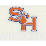 "Stockdale Sam Houston State University 4"" x 7"" Decals 2-Pack"