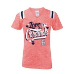 5th & Ocean Clothing Girls' St. Louis Cardinals Love My Team T-shirt - view number 1