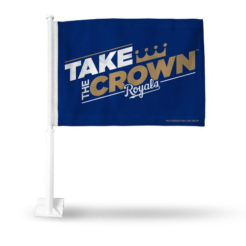 Rico Kansas City Royals Take the Crown Car Flag