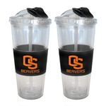 Boelter Brands Oregon State University 22 oz. No-Spill Straw Tumblers 2-Pack - view number 1