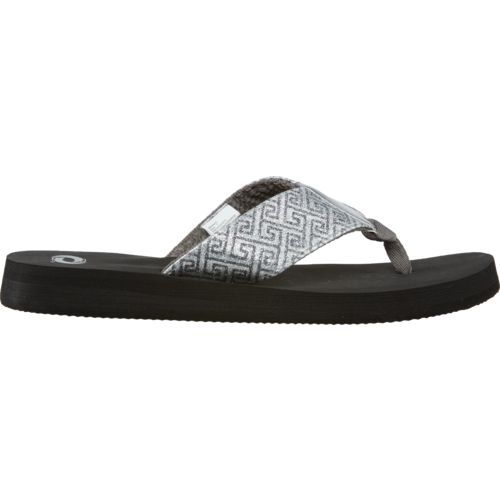 O'Rageous® Women's Glitter Flip-Flops