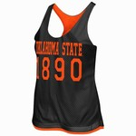 Colosseum Athletics Women's Oklahoma State University Triple Crown Reversible Tank Top