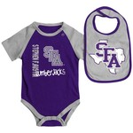 Colosseum Athletics Infants' Stephen F. Austin State University Rookie Onesie and Bib Set - view number 1