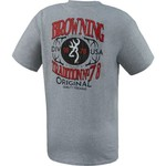 Browning Men's Quality Firearms T-shirt