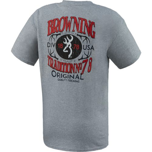 Browning™ Men's Quality Firearms T-shirt