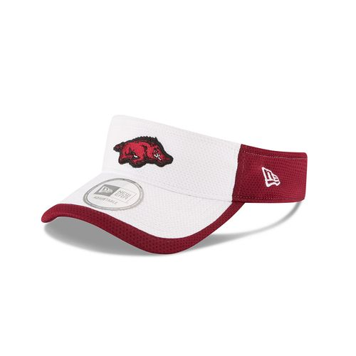 New Era Men's University of Arkansas Training Visor
