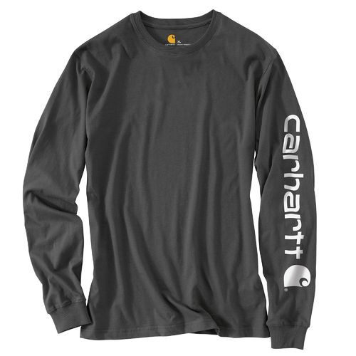 Carhartt Men's Long Sleeve Graphic Logo T-shirt