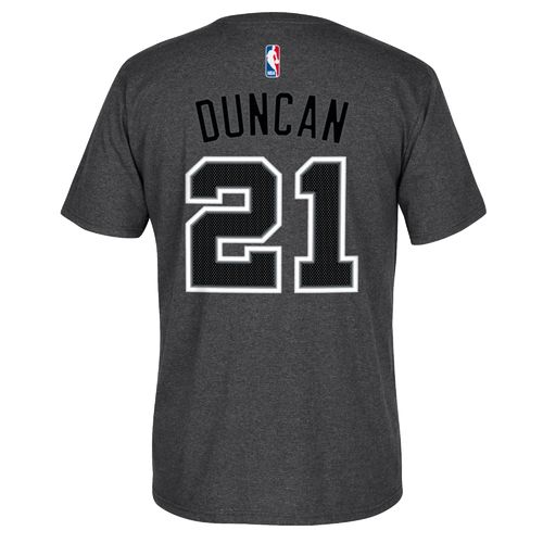adidas Men's Tim Duncan No. 21 Game Time T-shirt