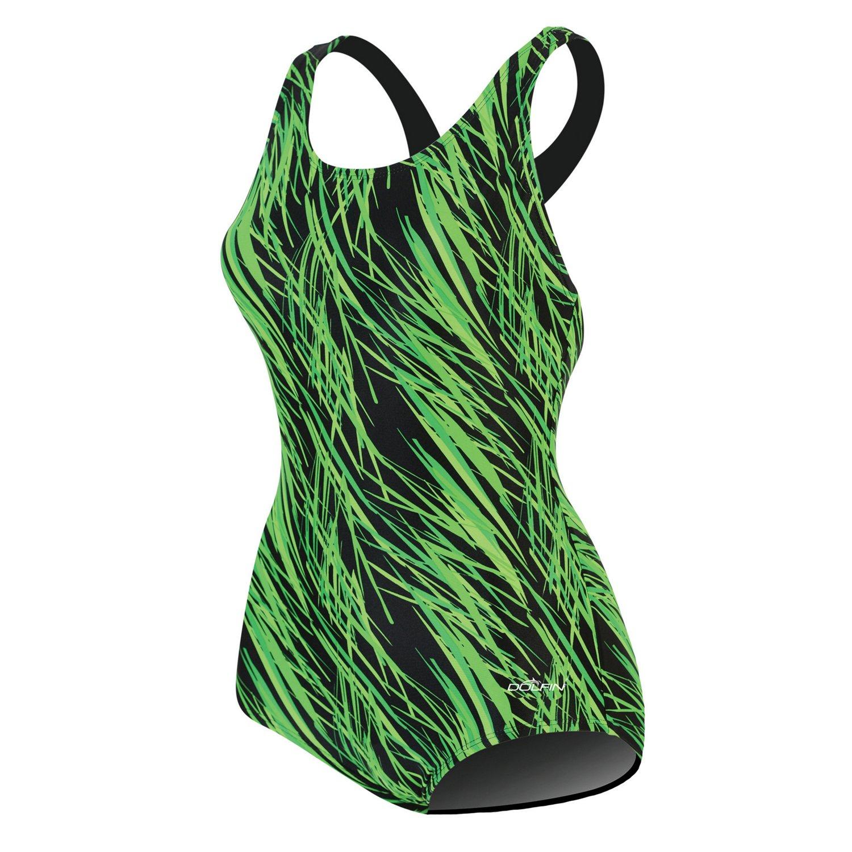 Dolfin Women's Lycra® Print 1-Piece Lap Suit