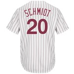 Majestic Men's Philadelphia Phillies Mike Schmidt #20 Cooperstown Cool Base 1980 Replica Jersey - view number 1