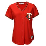Majestic Women's Minnesota Twins Byron Buxton #25 Cool Base® Replica Alternate Jersey - view number 2