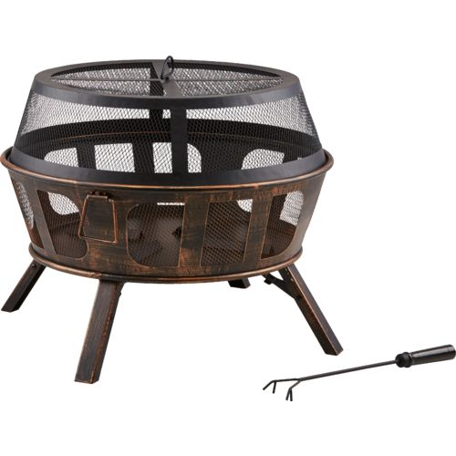 Mosaic 26 in Florence Folding Leg Fire Pit