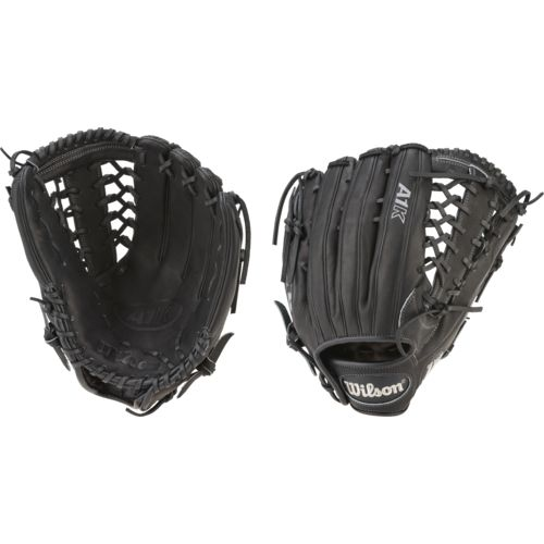 "Wilson Adults' A1K 12.25"" Outfield Baseball Glove"