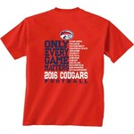 New World Graphics Men's University of Houston Schedule T-shirt