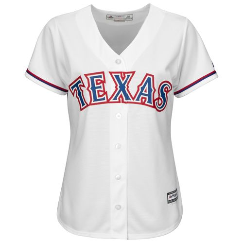 Majestic Women's Texas Rangers Cool Base Replica Home Jersey